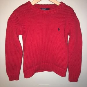Polo by Ralph Lauren Red Sweater
